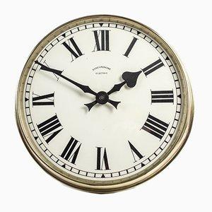 Horloge Murale en Laiton de Synchronome, années 30