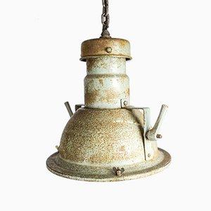 Lampe à Suspension Industrielle de Holophane, années 40