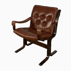 Mid-Century Lounge Chair by Ingmar Relling for Westnofa