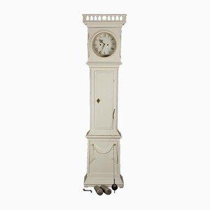 Reloj de caja alta Bornholm danés antiguo