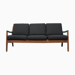 Danish Model 166 Ole Wanscher Senator Sofa from France & Søn/France & Daverkosen, 1950s