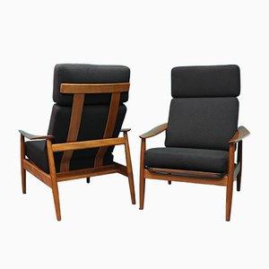 Modell 164 Sessel von Arne Vodder für Cado, 1950er