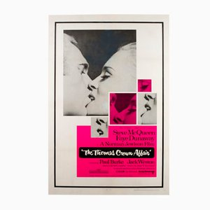 The Thomas Crown Affair Film Movie Poster, 1968