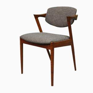 Chaise de Salon Modèle 42 par Kai Kristiansen, Danemark, années 50