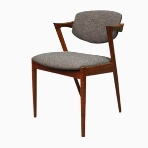Danish Model 42 Dining Chair by Kai Kristiansen, 1950s