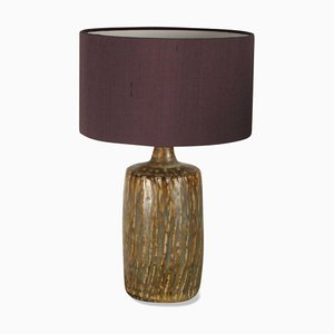 Schwedische Keramiklampe von Gunnar Nylund für Rörstrand, 1960er