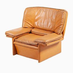 Leather Armchair by Titiana Ammannati & Giampiero Vitelli for Brunati, 1976