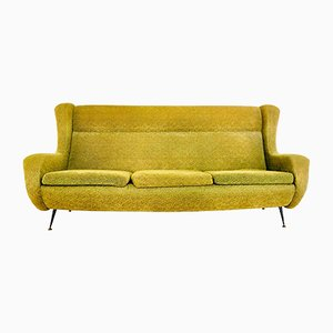 Gelbes Sofa von Marco Zanuso, 1960er