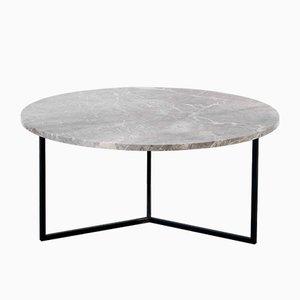 Mesa de centro oval en gris de Un'common