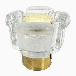 Lámparas de mesa de latón de Temde, años 70. Juego de 2