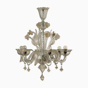Italienischer Vintage Kronleuchter aus Muranoglas