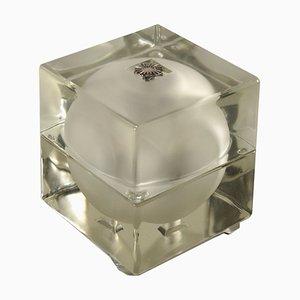 Cubosfera Tischlampe von Alessandro Mendini & Alessandro Guerriero für Fidenza Vetraria, 1960er