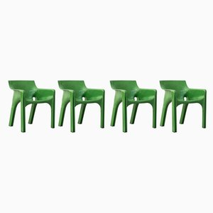 Dining Chairs by Vico Magistretti for Artemide, 1970s, Set of 4