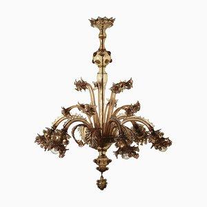 Vintage Italian Murano Glass Chandelier