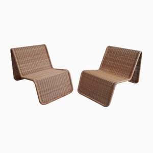 Model P3 Lounge Chairs by Tito Agnoli for Pierantonio Bonacina, 1980s, Set of 2