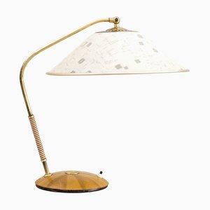 Moderne Mid-Century Tischlampe von Temde, 1960er
