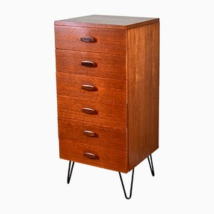 Danish Teak Dresser from Avalon, 1960s