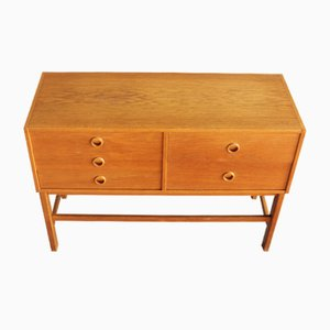 Vintage Oak Chest of Drawers, 1960s