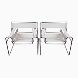 Wassily Sessel von Marcel Breuer für Alivar, 1980er, 2er Set