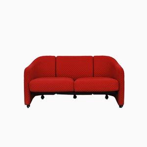 PS 142 Sofa von Eugenio Gerli für Tecno, 1970er