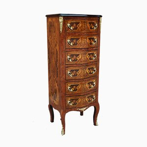 Napoleon III Style Inlaid Chest of Drawers, 1920s