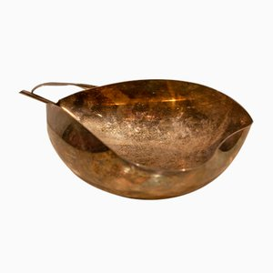 Italienische Gallia Schale aus versilbertem Metall von Christofle, 1970er