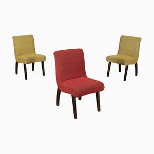 Chaises d'Appoint, années 50, Set de 3