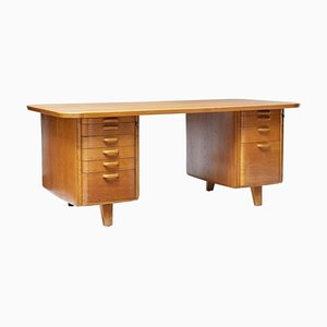 Swedish Art Deco Desk by Gunnar Ericsson for Atvidaberg, 1930s