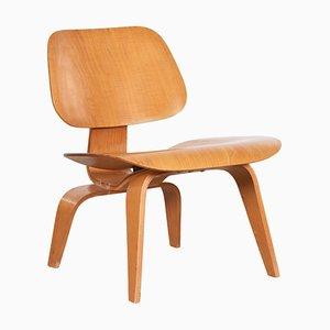 LCW Stuhl aus Eschenholz von Charles & Ray Eames für Evans, 1947