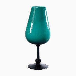 Italian Glass Vase from Empoli, 1960s