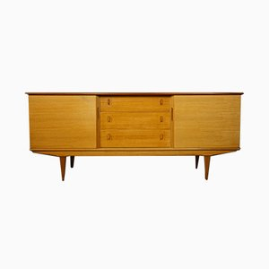 Teak & Sycamore Sideboard by Alfred cox, 1960s