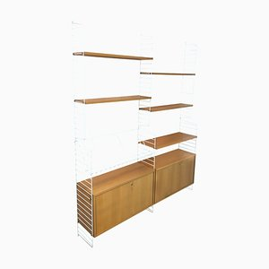 Wall Unit by Kajsa & Nils Nisse Strinning for String, 1960s
