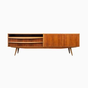 Walnut Veneered Sideboard, 1950s