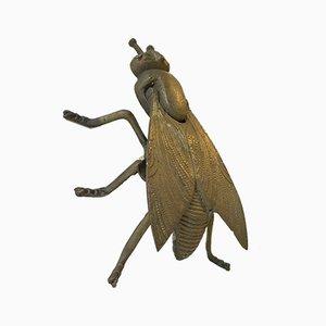 Posacenere in ottone a forma di mosca, Italia, anni '50