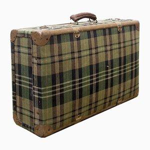 Vintage Wooden Suitcase, 1940s