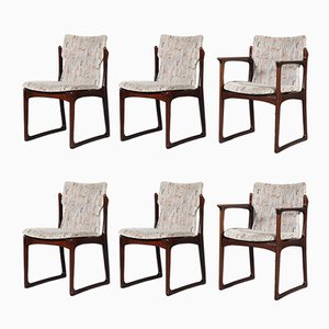 Mid-Century Teak VS 231 Dining Chairs, Set of 6