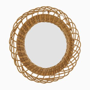 Wicker Mirror, 1970s