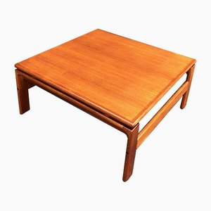 Mid-Century Danish Teak Coffee Table from Komfort