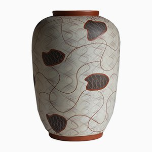 Ceramic Floor Vase by Eisbach Wagner, Ransbach Baumbach for Eiwa, 1950s