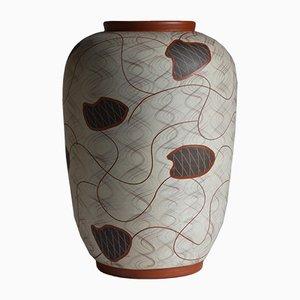 Vaso da terra in ceramica di Eisbach Wagner, Ransbach Baumbach per Eiwa, anni '50