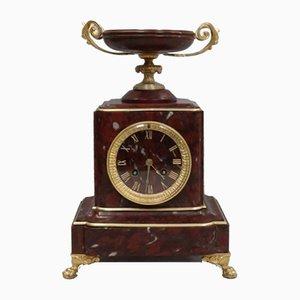 Antike französische neoklassizistische Uhr von Japy Freres