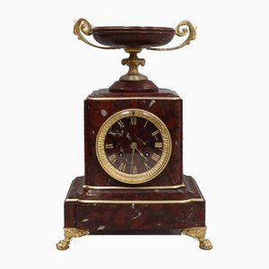 Antique French Neoclassical Clock from Japy Freres