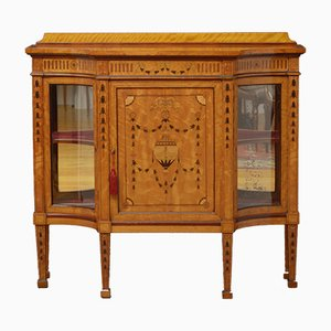 Antique Satinwood Cabinet from Maple & Co