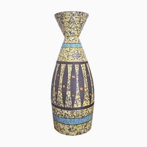 Jarrón de suelo de Bodo Mans para Bay Keramik, años 50
