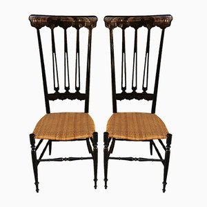 Side Chairs by Chiavari for Chiavari, 1950s, Set of 2