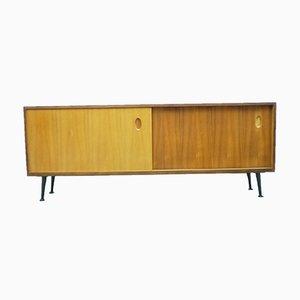 Sideboard aus Nussholz von Georg Satink für WK Möbel, 1950er