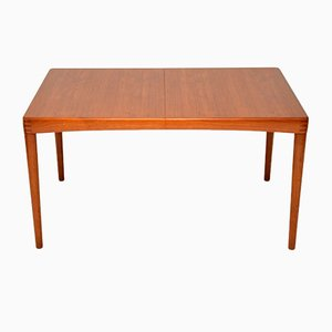 Danish Teak Dining Table by H. W. Klein for Bramin, 1960s
