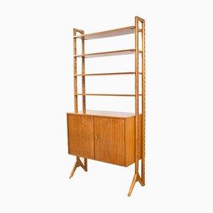 Mueble de pared sueco de roble de Edsby Verken, años 50