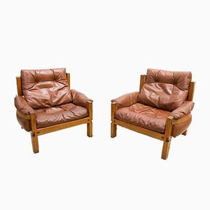 S15 Armchairs by Pierre Chapo, 1960s, Set of 2