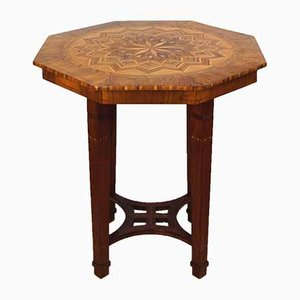 Art Deco Rosewood Side Table, 1920s
